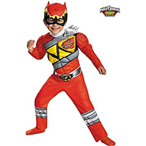 Disguise Red Ranger Dino Charge Toddler Muscle Costume - 51KB2Wfxo L - Disguise Red Ranger Dino Charge Toddler Muscle Costume