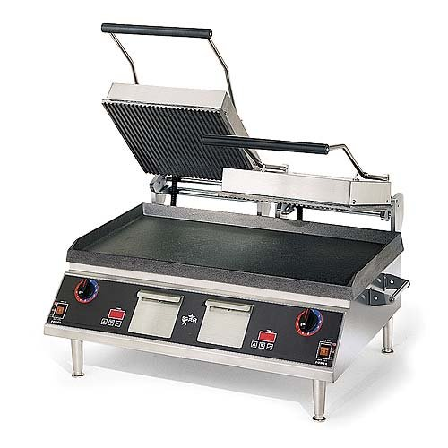 "Table Top King star (CG28ITGT) - 34"" Grooved Pro-Max Sandwich Grill"