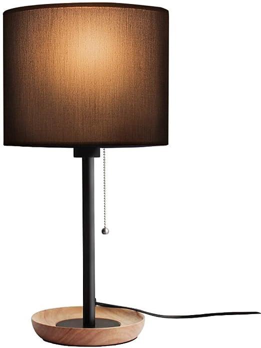 WOAINI Lámpara de Mesa Dormitorio Luz de Noche Diseño Simple Luz ...