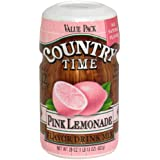 Amazon Com Country Time Lemonade Drink Mix 19 Oz Makes 8 Qt Powdered Soft Drink Mixes Grocery Gourmet Food