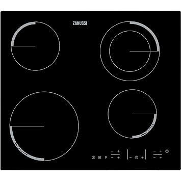 Zanussi ZEN6641XBA - Placa Mixta Zen6641Xba De Inducción Y Vitrocerámica