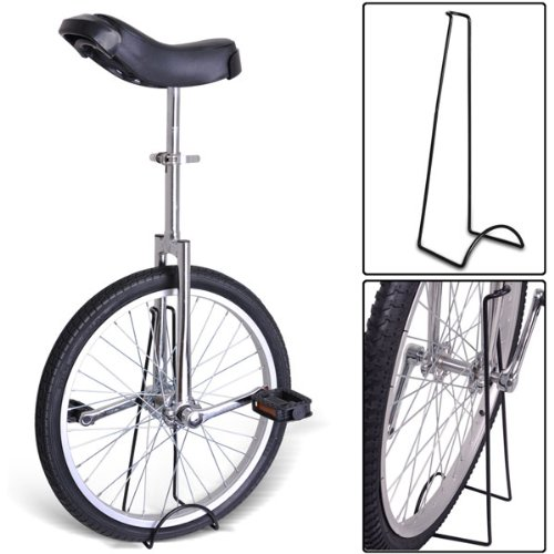 20'' Professional Unicycle with Somatological Design in Various Colors (Chrome)