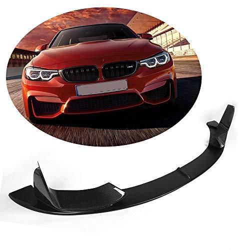 MCARCAR KIT For BMW F82 M4 F80 M3 2014-2017 Car Tuing Half Carbon Fiber Front Bumper Chin Spoiler