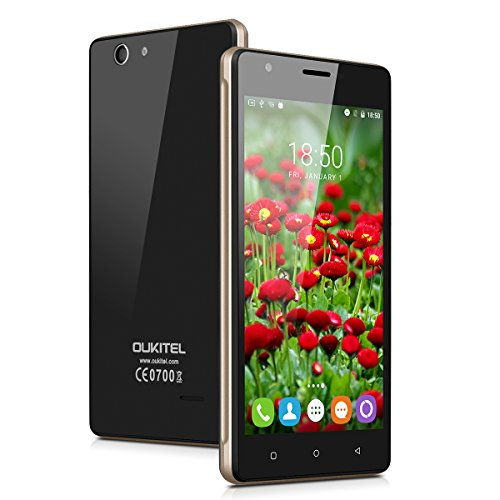 OUKITEL-C4-4G-Smartphone-Libre-Multitctil-Android-60-Pantalla-IPS-50-13GHz-MT6737-Quad-Core-1GB-RAM-8GB-ROM-50MP-Cmara-GPS-WIFI-OTA-Dual-SIM