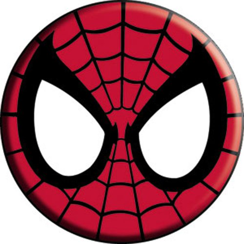 amazon com spider man mask marvel comics pinback button 1 5 rh amazon com Avengers Clip Art Spider-Man Black and White Clip Art
