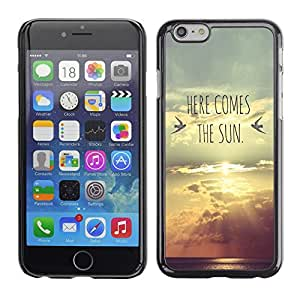 SKCASE Center / Funda Carcasa - El Lyrics Banda Sunset Sun;;;;;;;; - iPhone 6