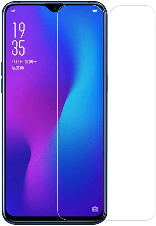 ZYS Screen Protector 25 PCS for Oppo F9 Pro//Realme 2 Pro//Realme 3 Pro Fingerprint Proof Full Screen Tempered Glass Film