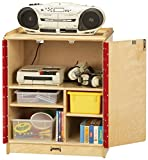 Jonti-Craft 3305JC Media Cart, Lockable
