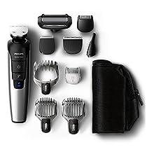 Philips Grooming Kit Serie 7000 PRO - QG3398/15 - Rifinitore Barba Capelli and Corpo 10 in 1 [Italia]