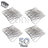 DDP SET OF 50 DENTAL MATHIEU NEEDLE HOLDER PLIER 5.5'' STAINLESS STEEL