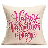 Amiley Cushion Cover Pillow Case , 2017 Valentine's Day Pillow Case Sofa Home Decor (45cm45cm, B)