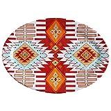 HiEnd Accents Southwest Multicolor Melamine 12-piece Serving Platter (Case of 20)