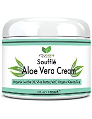 YouSkin Naturals Aloe Vera Moisture Cream - Best For Eczema, Psoriasis, Sensitive, Dry & Itchy Skin, 4 fl oz