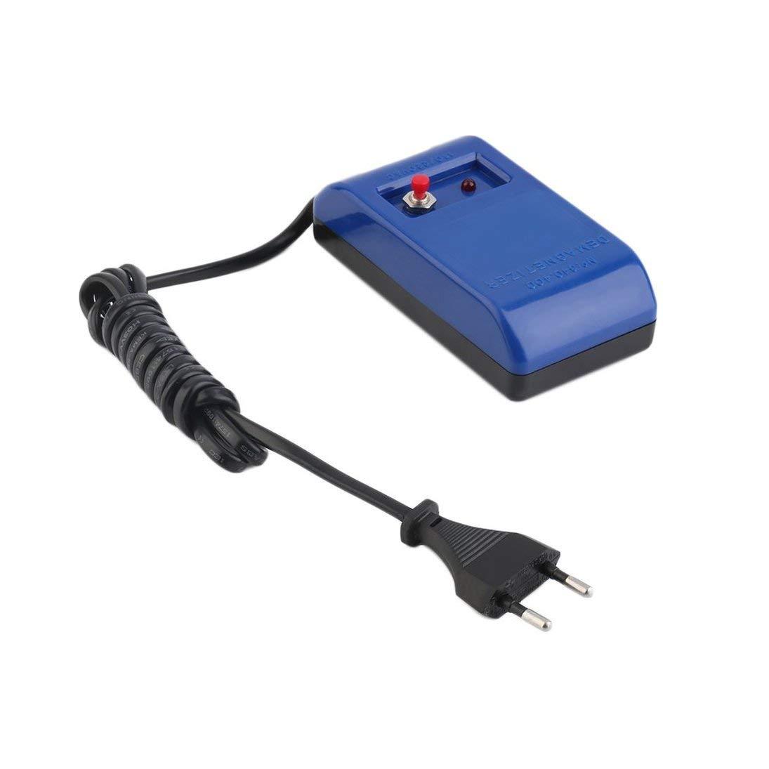 /Électrique Parfait Montre R/éparation Tournevis Brucelles D/émagn/étiser D/émagn/étiseur Outils EU Plug