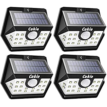 Mpow Solar Lights Outdoor Bright Motion Sensor Security