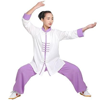 De la Mujer Kung Fu traje de Tai Chi Uniform Wushu, mujer ...