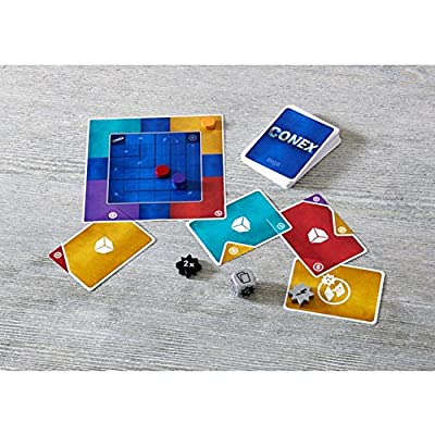 HABA CONEX - an Abstract Card Arranging Game for Outside-The-Box Thinkers Ages 8 and Up (Made in Germany): Toys & Games