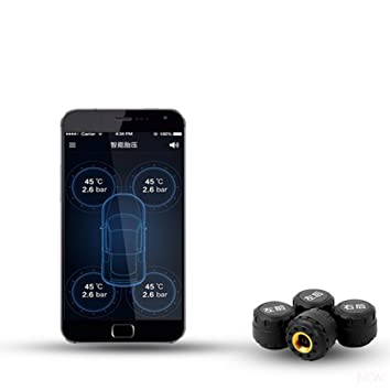 CAR SHUN Alarma De Voz Externa del Sistema De Monitoreo De ...