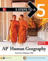 5 Steps to a 5: AP Human Geography 2019 Front Cover