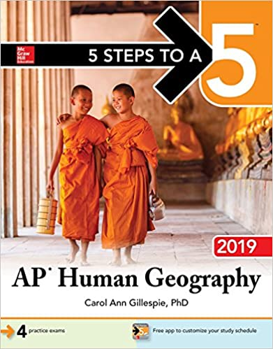 Image result for 5 steps to a 5 ap  HUMAN GEOGRAPHY 2019