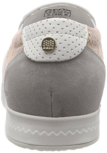 Geox D MODESTY C - Mocasines Mujer Varios Colores - Mehrfarbig (ROSE GOLD/PEACHCH8D8)