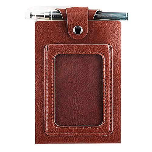 Kennedy Portable Lanyard Meeting Notebook Hanging Neck Small Book With A Pen Mini Notebook