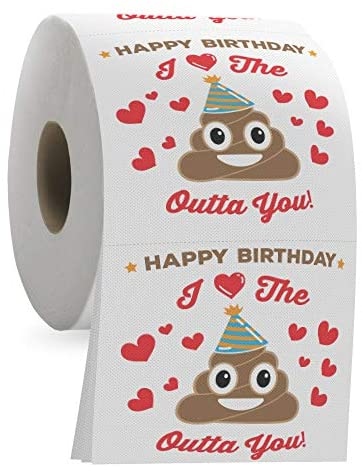 Happy Birthday Funny Toilet Paper product image