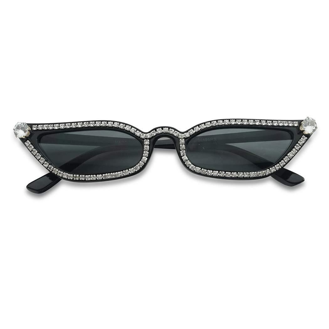 SunglassUP Retro Vintage Lolita Cat Eye Clout Goggle Style Tinted Lens Sunglasses