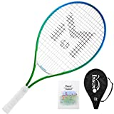 "Insum Junior Tennis Racquet 23"" Beginner Kids Starter (Ages 7-8) with Shoulder Strap"