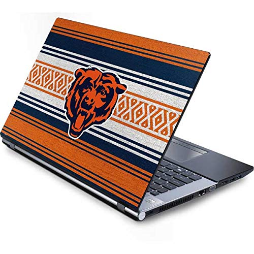 (Skinit Chicago Bears Trailblazer Generic 15.4in Laptop Skin - Officially Licensed NFL Laptop Decal - Ultra Thin, Lightweight Vinyl Decal)