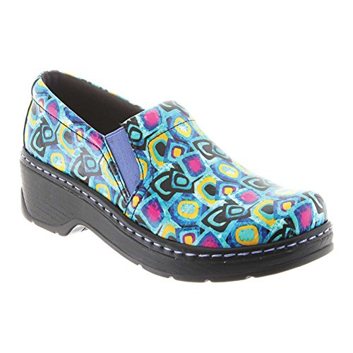 Klogs New Women's Naples Clog Cubism Patent 7 by Klogs