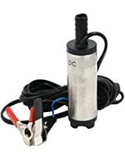 Preamer 12V 30LPM Aluminum Diesel Fuel Water Oil Transfer Refueling Submersible Pump