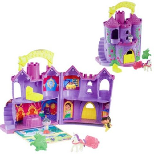 Fisher-Price Dora Let's Go Adventure Fairytale Castle (Adventure Fisher Price Castle)