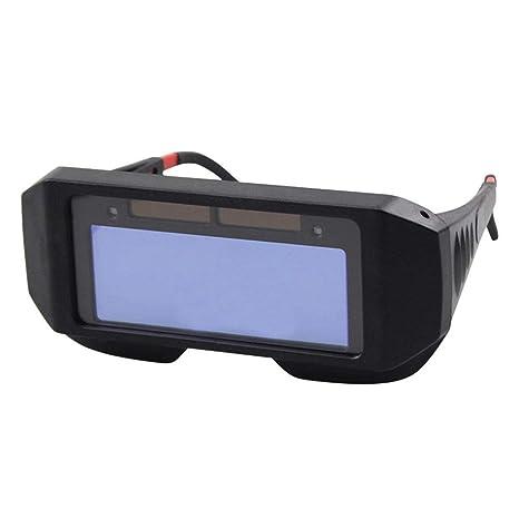 JUNERAIN Solar Auto Oscurecimiento Soldadura Casco Protector de Ojos Soldador Gorra Máscara de Gafas