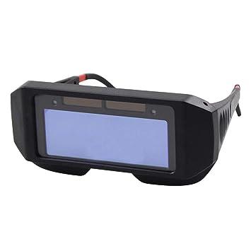 Gafas de Seguridad Solar Auto Oscurecimiento Soldadura Casco Protector de Ojos Gorro de Soldador Gafas (A) - Matefielduk: Amazon.es: Bricolaje y ...