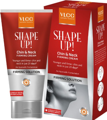VLCC Shape Up Chin And Neck Firming Cream, - Of Types Shapes Chin