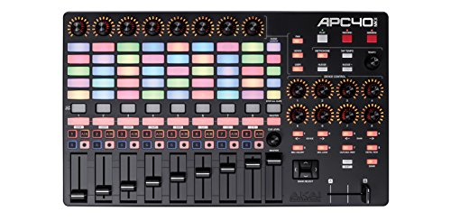 Akai Professional APC40 MKII | Ableton Performance Controller with Ableton Live Lite Download (5x8 RGB Clip-Launch Grid)