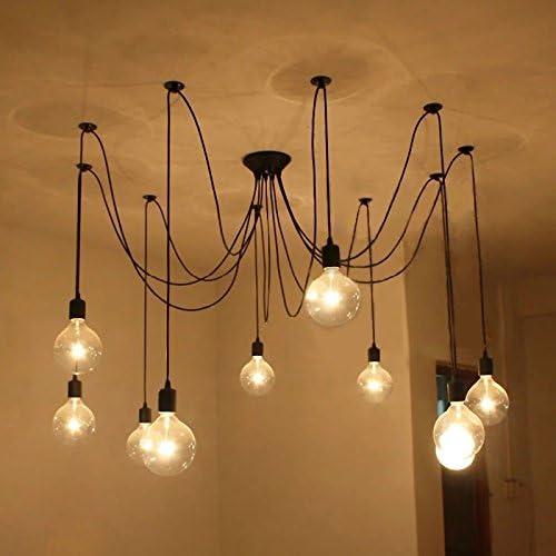 OUGEER 3er G80 E27 6W Gl/ühbirne LED Edison Lampe Vintage Retro Stil Filament Birne Ersatz 60W,2300K Warmwei/ß,AC 220V-240V 600LM,Nicht dimmbar