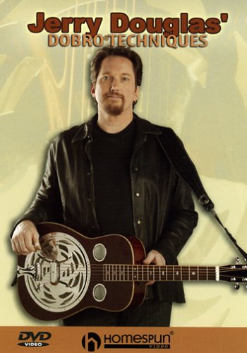 DVD-Jerry Douglas' Dobro Techniques by Homespun Tapes