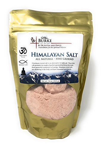 Himalayan Salt 16 oz. (454 g) by Burke Superfoods