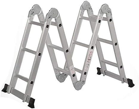 Zhuowei Escalera Inclinada Escalera Multiusos Escalera Plegable Escalera Articulada con Plataforma Peldaños Escalera De Aluminio Escalera Multifuncional Escalera Combinada: Amazon.es: Deportes y aire libre