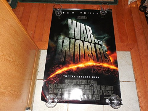 3- 40X27 War Of The World's Final One-Sheet Movie Posters -Orig. Theatre -