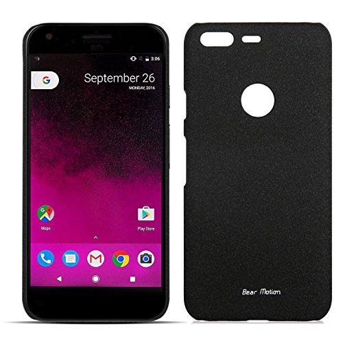 Slim Case for Google Pixel Case - Bear Motion Premium Back Cover for Google Pixel - Sandy (Black)