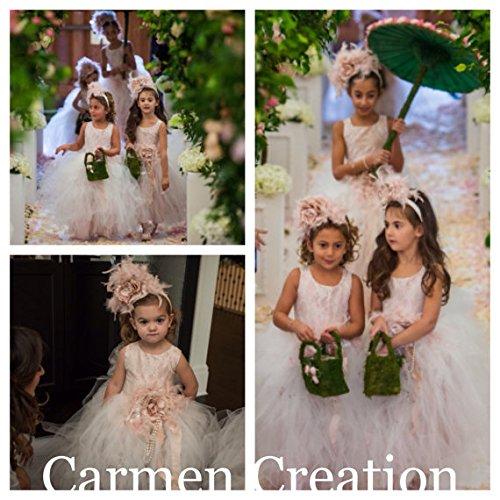 Blush Pink Mini Bride Dress