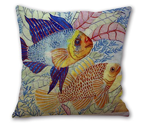 OneMtoss 24Inches Cotton Cushion Colorful