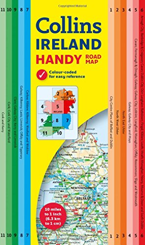 Collins Handy Map Ireland|-|0008183740