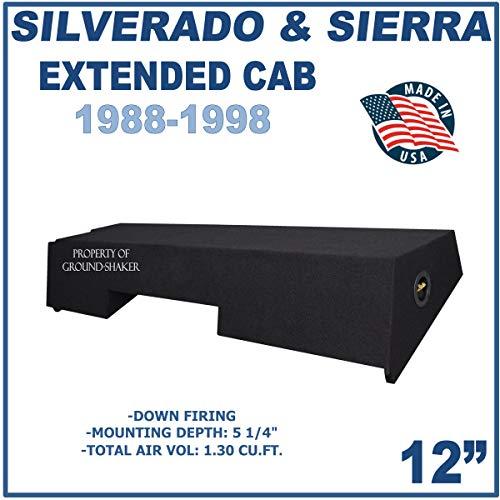 Chevy Silverado & Gmc Sierra Extended Cab 89-98 12