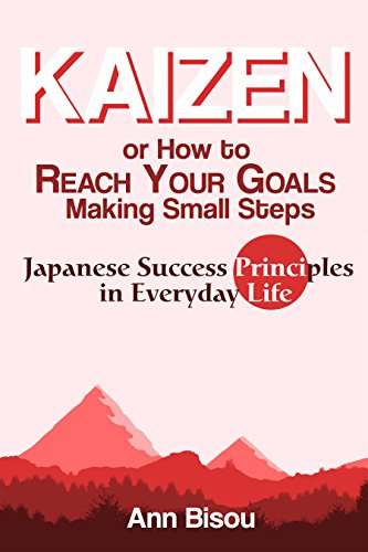 amazon com kaizen or how to reach your goals making small steps
