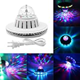 KAPATA LED Stage Lights RGB 7 Colors Rotating ,6W Mini Lighting,for Disco party club bar DJ ball Bulb Multi changing Color with Beautiful Patterns