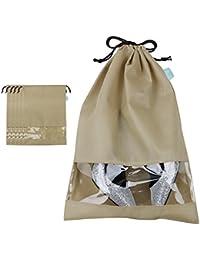 Non-woven Shoe Storage Bags for Seasonal Shoes Organizer in Closet/Attic/Shelf, Travel Shoes Storage Bags